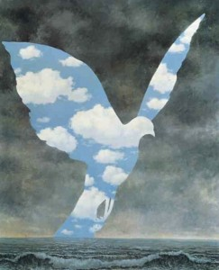 magritte - colombe